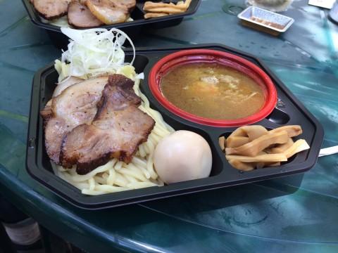 「大勝軒◯秀」のつけ麺