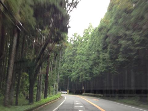 富士山をもとめ走る